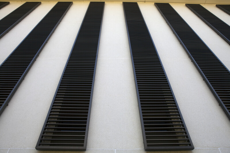 Louvers at State Capitol
