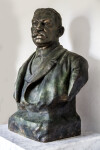 Luis Muñoz Rivera Bust, Three-Quarters View