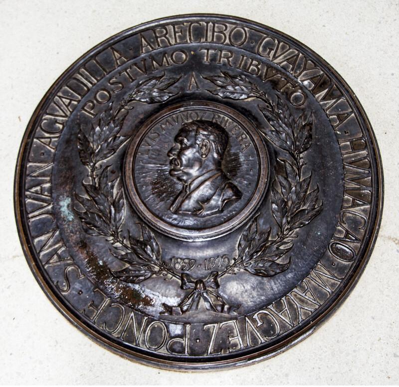 Luis Muñoz Rivera Medallion