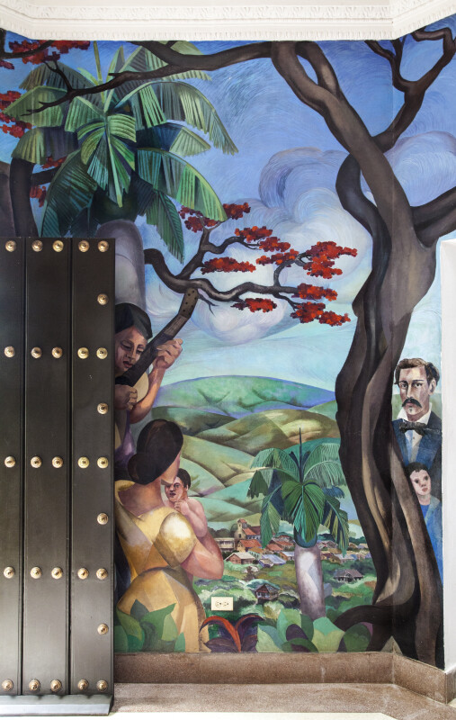 Luis Muñoz Rivera Mural, Panel 1 of 8