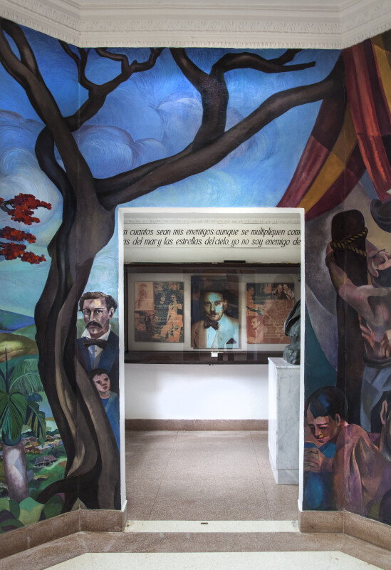 Luis Muñoz Rivera Mural, Panel 2 of 8