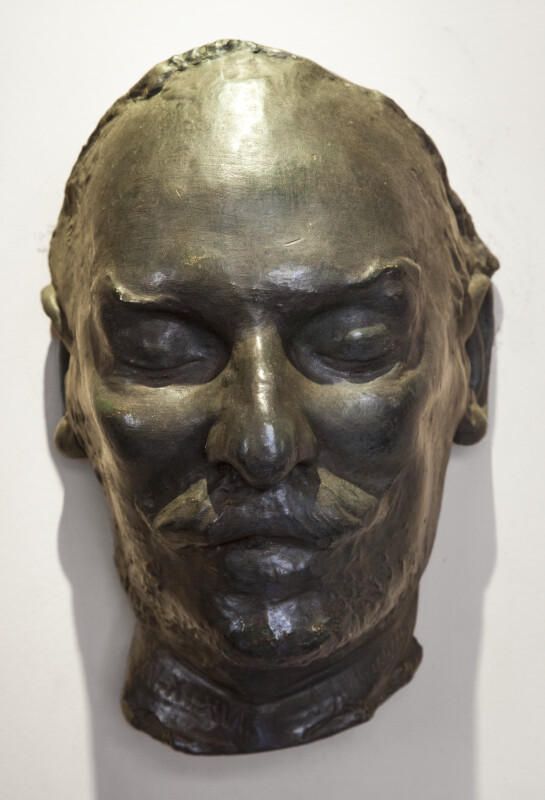 Luis Muñoz Rivera's Death Mask, Front View