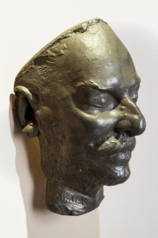 Luis Muñoz Rivera's Death Mask, Side View