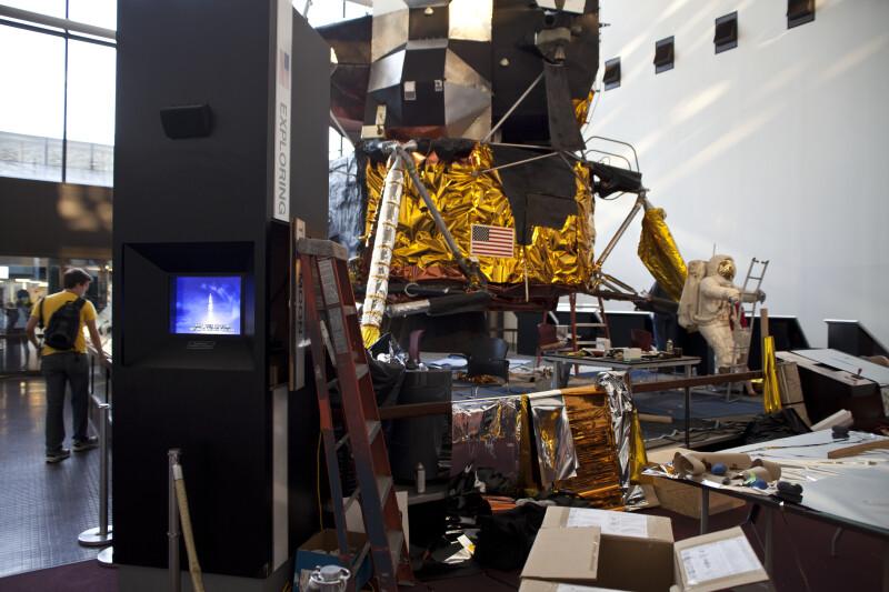 Lunar Lander Restoration