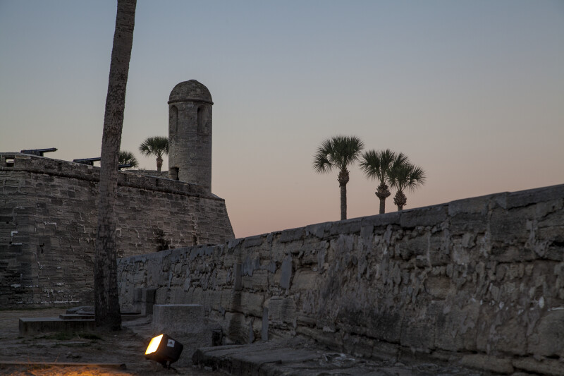 Main Watch Tower of Castillo de San Marcos