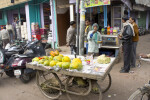 Man Selling Melon