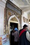 Many Colored Door entering Salim Chishti's