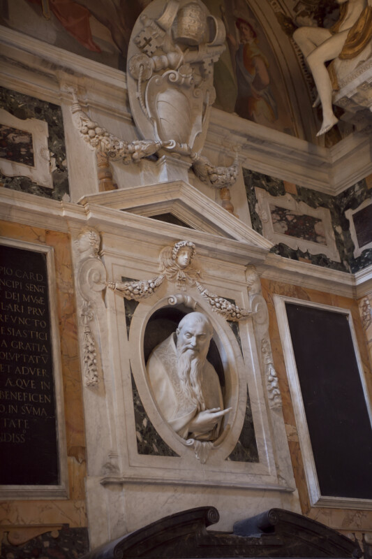 Marble Bust of Pope Sixtus V