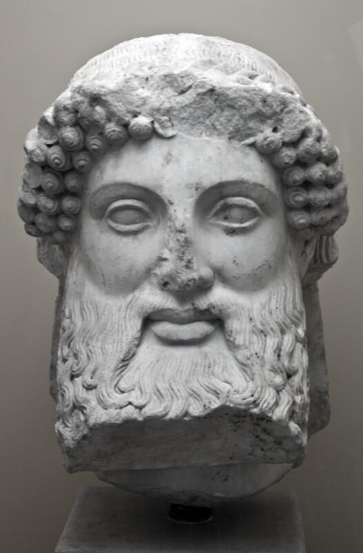Marble Herm Head