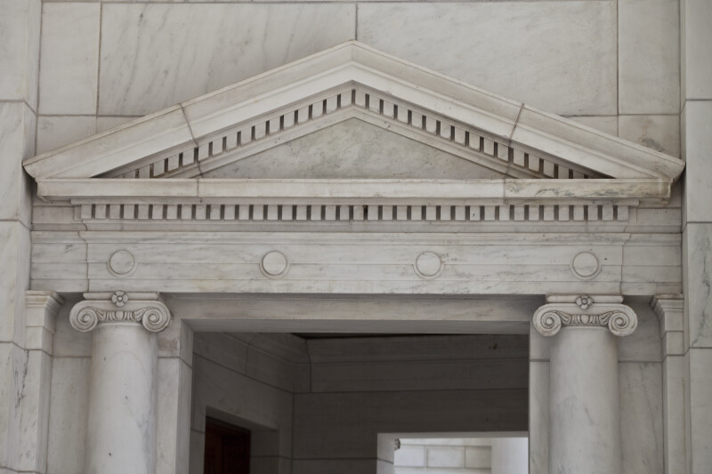Marble Pediment