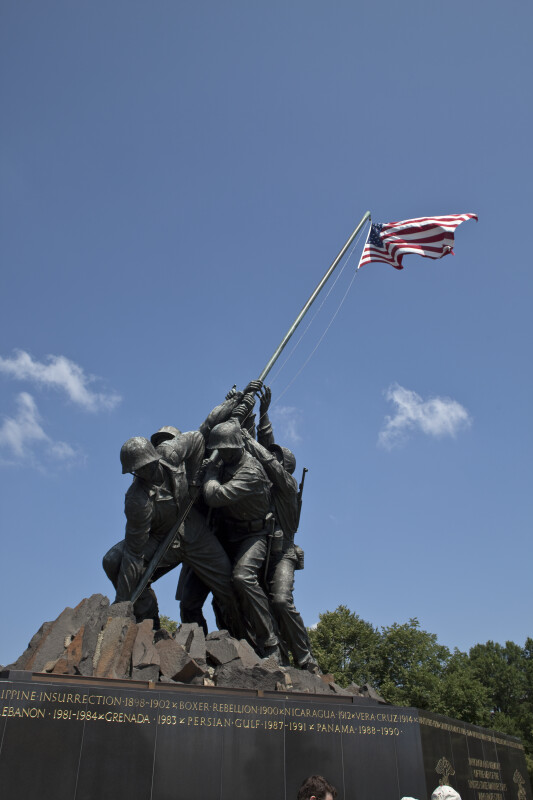 Marine Corps War Memorial Sculpture