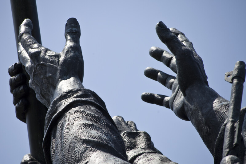 Marine's Hands
