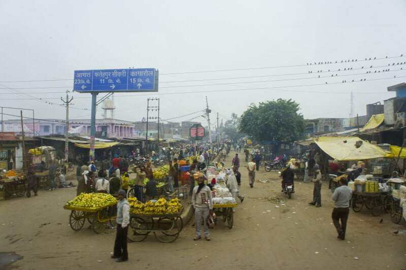Market Place in India