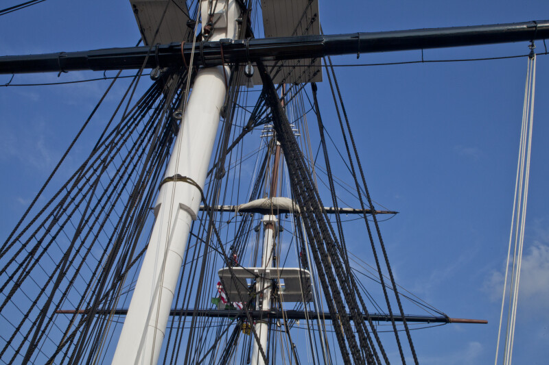 Masts and Fighting Tops