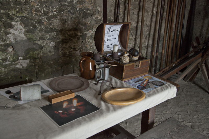 Materials Used at Fort Matanzas