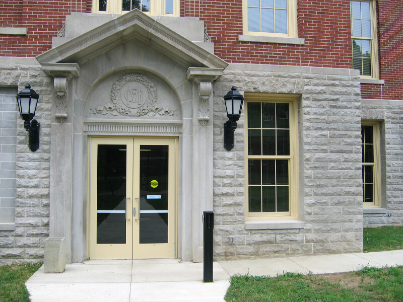 McGuffey Hall Doorway at Miami University of Ohio