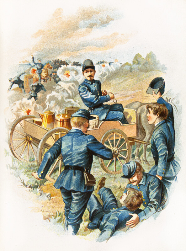 McKinley at Antietam