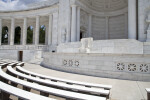 Memorial Amphitheater Benches and Stage