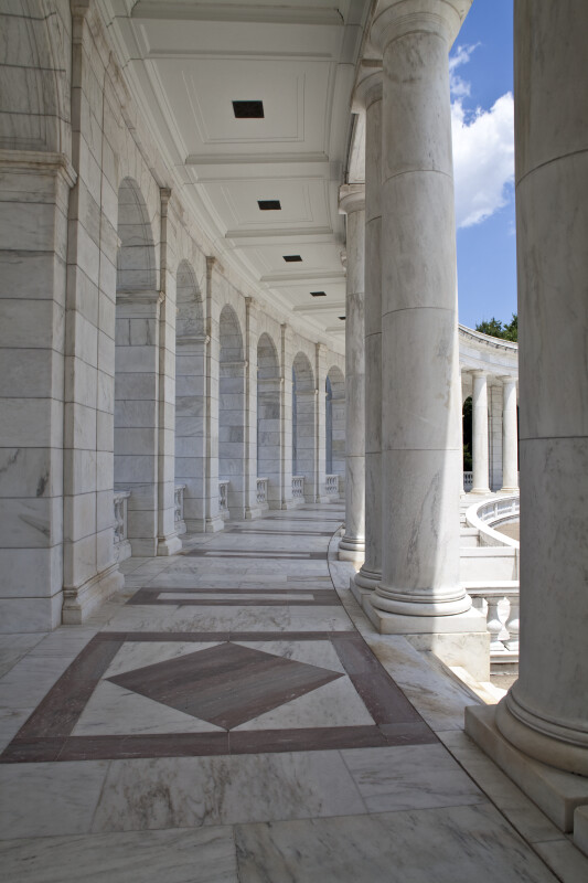 Memorial Amphitheater Colonnade
