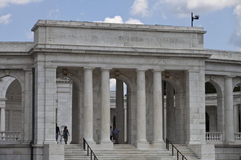 Memorial Amphitheater Entrance