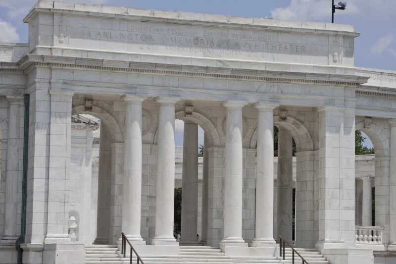 Memorial Amphitheater Façade