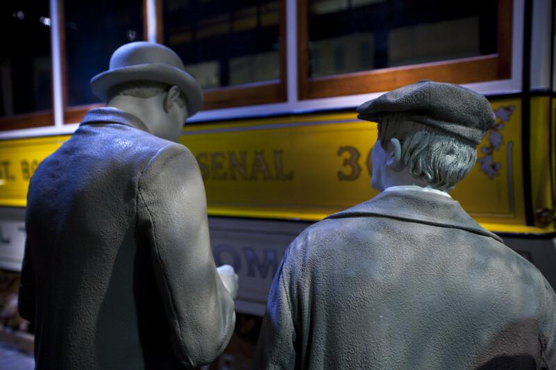 Men by Streetcar