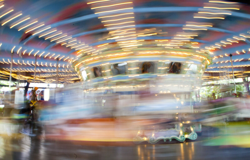 Merry-Go-Round in Motion
