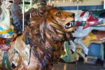 Merry-Go-Round Lion