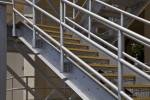 Metal Headworks Stairs