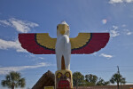 Miccosukee Tribe of Indians Eagle Totem