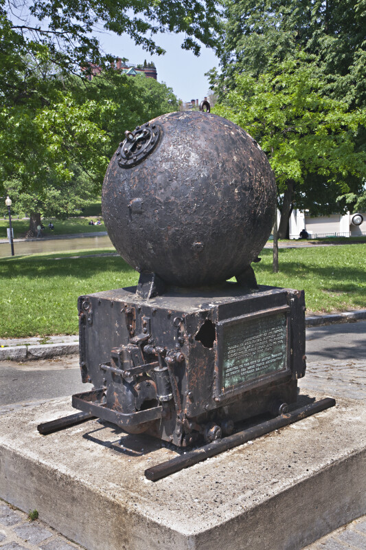 Mine Sweepers Memorial at Boston Common