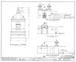 Mission Concepción Elevation Drawings