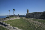 Moat and Main Watch Tower of Castillo de San Marcos