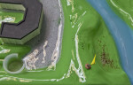 Model of Golf Course with Pesticide and Fertilizers