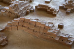 Model of Pueblo Village at Quarai Ruins