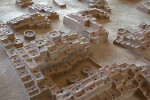 Model of Pueblos and Kivas at the Quarai Ruins