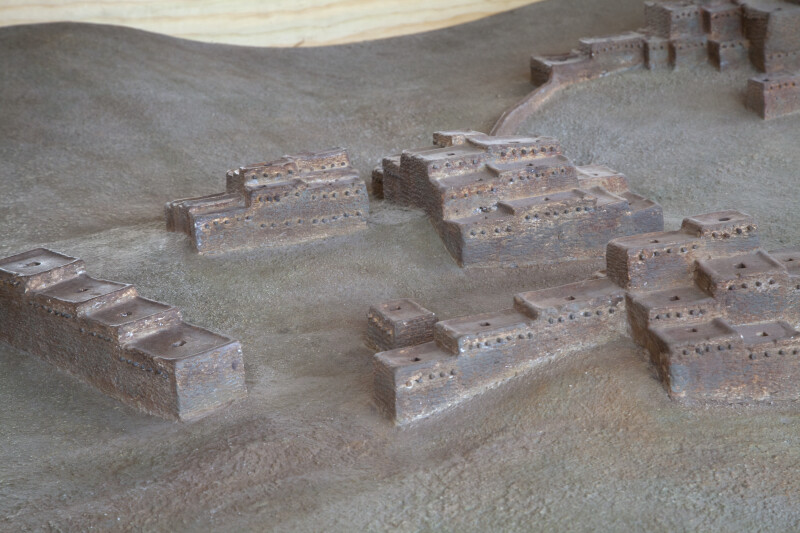 Model of the Pueblo Village at Quarai