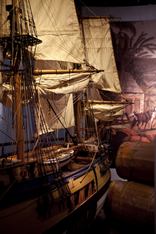 Model of Tobacco Ship