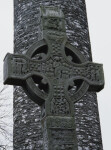 Monasterboice, West Cross or Tall Cross, East Face, Christ in Glory