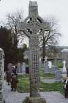Monasterboice, West Cross or Tall Cross, West Face, Crucifixion