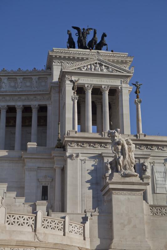 Monument to Vittorio Emanuele II King of Italy