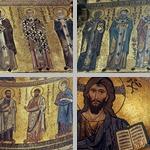 Mosaics, interior, Cefalù cathedral photographs