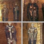 Mosaics, interior, Monreale cathedral photographs