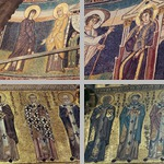 Mosaics on apse and choir walls photographs