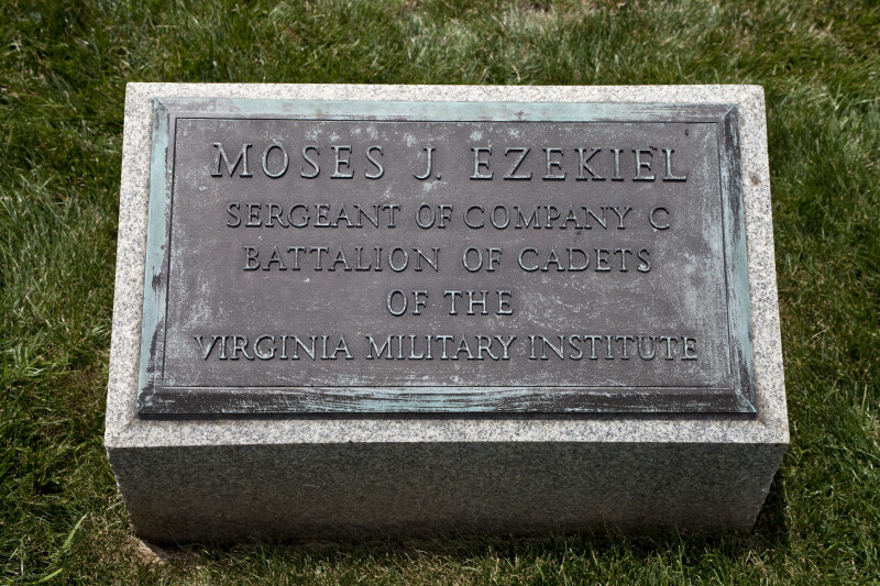Moses J. Ezekial's Grave