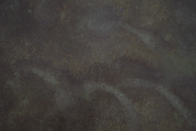 Moss-Colored Concrete Floor