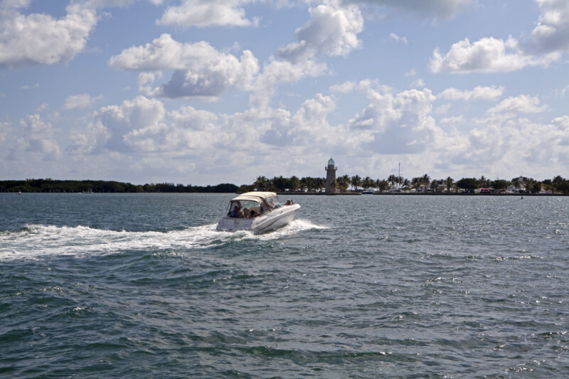 Motorboat Heading to Shore