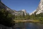 Mount Watkins from across Mirror Lake