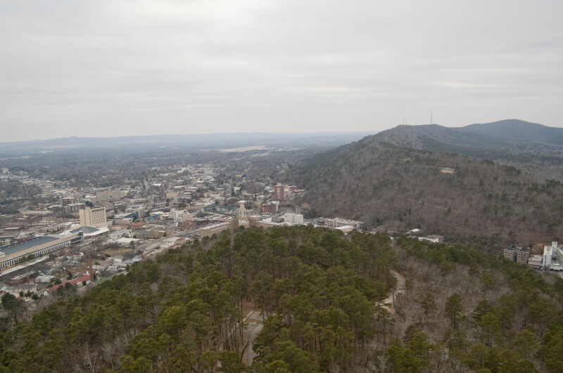 Mountain View of Hot Springs
