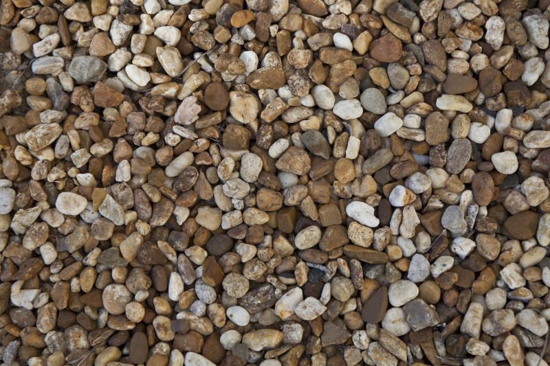 Multi-colored Pebbles